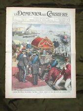 La Domenica del Corriere 7 Maggio 1911 Bandiera Venezia Sciopero a Parma Torino