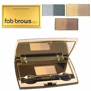 Fab Brows Duo Semi Permanent Eyebrow Kit Waterproof Smudge Resistant Stencil Set