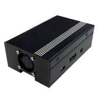 Para Raspberry Pi 3 y Raspberry Pi 2 Caja de metal con ventilador de refrig V6H2