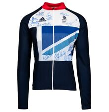 Team GB Olympic Cycling Jersey - London 2012 Autograph