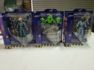 The Real Ghostbusters Diamond Select Wave 9 Set of 3