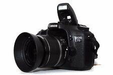 Canon EOS 7D 18 MP DSLR und Canon EFS 18-55mm IS Objektiv Live View Video + Zub