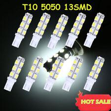 10 Xenon White Wedge T10 5050 13-SMD Car LED Light bulbs W5W 2825 158 192 168 US