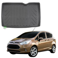FORD B-MAX 2012-2018 Tailored LUX 1300g Car /& Boot Mats BLACK