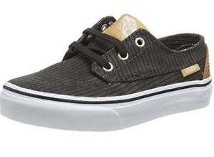 Vans Brigata, Unisex Kids' Low-Top Sneakers RARE NEW stock UK size 3 boxed