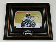 ***  VALENTINO ROSSI Signed Photo Picture Autograph Display *** AFTAL DEALER COA