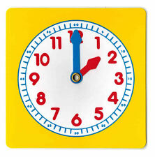 Clock Dial Learn to Tell the Time Learning EducationalClock Teaching Aid 10 PACK