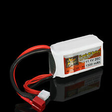 BATTERIA LIPO 11,1V 1300mAh 3S 20C ZOP Power Lipo Battery T PLUG | UPGRADE