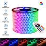 LED RGB Strip 220V 240V IP67 Waterproof 5050 120LEDs/m Commercial Light UK Plug