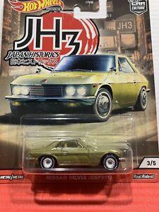 Hot Wheels Jh3 Nissan Silvia (csp311) Premium Metal/metal Real Riders 3/5