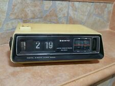 SANYO RM 5021 DIGITAL CLOCK RADIO