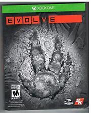 EVOLVE XBOX ONE GAME BRAND NEW Xboxone