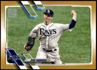 Ryan Yarbrough 2021 Topps 5x7 Gold #196 /10 Rays