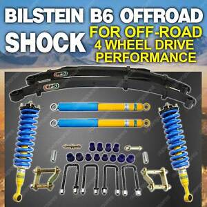 Bilstein Shock Pre Assembled Strut Coil Leaf 50mm Lift Kit for Isuzu Dmax TFS85