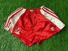 LIVERPOOL ENGLAND 1989-1991 RARE FOOTBALL SHORTS HOME ADIDAS ORIGINAL YOUNG 28