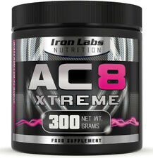 AC8 Xtreme | Watermelon | Pre Workout Supplement | Energy & Muscle | 300 grams
