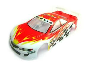 10145 Bodywork Road on-Road Scale 1/10 Cut Drilled Body PVC HIMOTO