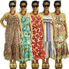 Machine Washable Maxi 100% Cotton Dresses for Women