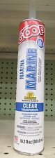 10.2 oz Marine Goop Glue Adhesive Sealant Goo Clear 172012 UV Resistant