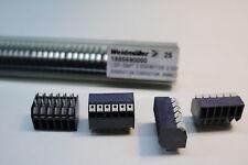 25x Weidmuller LSF-SMT 3.50/06/135 3.5SN BK TU 1885690000
