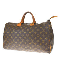 Auth LOUIS VUITTON Speedy 40 Travel Hand Bag Monogram Leather M41522 39MF166