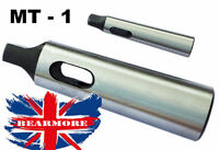 Morse Taper Adapter MT1 to MT2 Reducing Adapter Drill Sleeve for Lathe Mil @ UK