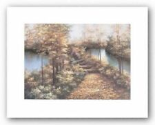 Autumn Leaves Diane Romanello Art Print 7x10