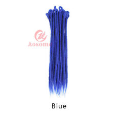 20'' 5pcs Synthetic Twist Crochet Braid Dreads Dreadlocks Afro Hair Extensions