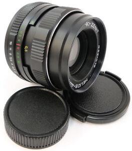 ⭐NEW⭐ HELIOS 44m-4 Lens + Adapt. Micro M 4/3 MFT Mount Olympus Lumix Panasonic