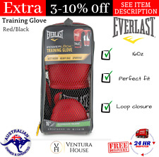 Everlast 16Oz. PowerLock Training Glove - Red/Black