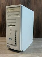Dell Dimension 4100 Computer *POWERS ON* NO HD