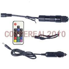 12V RGB Car Light Illuminator Device Adapter For End Side Glow Fiber Optic Cable