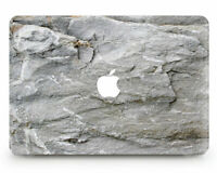 White Stone Marble Cover Case For Apple Macbook Pro Retina Air 11 12 13 15 2016