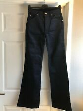 BNWT Women's Ladies 70s Style Cord Velour Flares Embroidery LITTLE BUDDAH XL