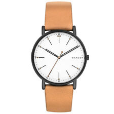 Skagen Signatur Tan Leather Watch SKW6352