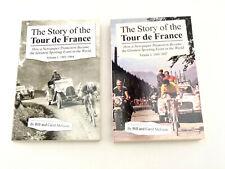 The Story of the Tour de France Vol. I & Ii Eddy Merckx 2 Books
