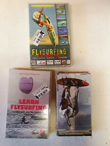 KITE SURFING VHS VIDEOS, 3pcs set from 00's