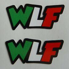 Valentino Rossi 46 Decal 2 Sticker WLF size cm. 4 X 2
