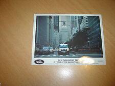PHOTO DE PRESSE ( PRESS PHOTO ) Land Rover Discovery Trek de 1998 R0130