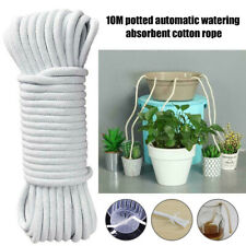 10M Self Watering Wick Cord Cotton Rope for Potted Plant Self-Watering DIY AU