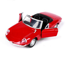 1/32 BBURAGO 1966 Alfa Romeo Spider Diecast Vehicle Alloy Red Car Model Toy