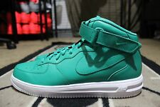 New Nike iD Air Force One 1 Hi Size 13 Teal/White