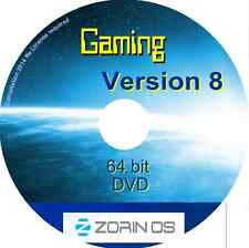 Zorin OS 8 GIOCHI 64 BIT LIVE DVD-Nessuna licenza richiesta Linux O / S WINDOWS ALT