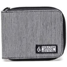 Volcom Full Zip Wallet - Black |  Volcom Mens Wallet