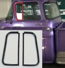 Vent Window Glass Seals Rubber Weatherstrip Kit for 1955-1959 Chevy GMC Trucks