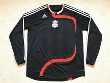 Liverpool Football Shirt 2007-2008 Long Sleeve Adidas Formotion Player Issue