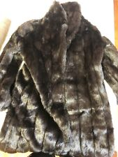 Monterey Fashion Fur Coat Black Coat Full Length