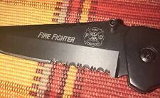 Fire Fighter Tactical Knife