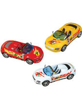 3 Friction Rev Em Up Toy Sports Cars Costume Accessory