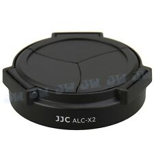 JJC ALC-X2 Self Retaining Auto Open Close Lens Cap for Leica X1 X2 Camera Black